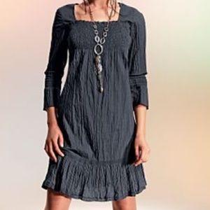 VENUS Dresses & Skirts - Dark grey peasant style dress. NWOT