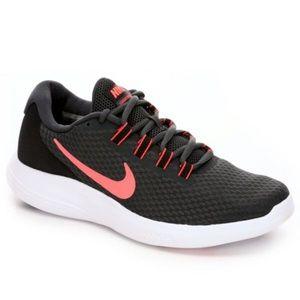 Nike Shoes - Pink swoosh Nike Lunar Converge Running Shoe 7