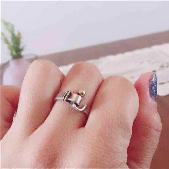 K Gator Ring