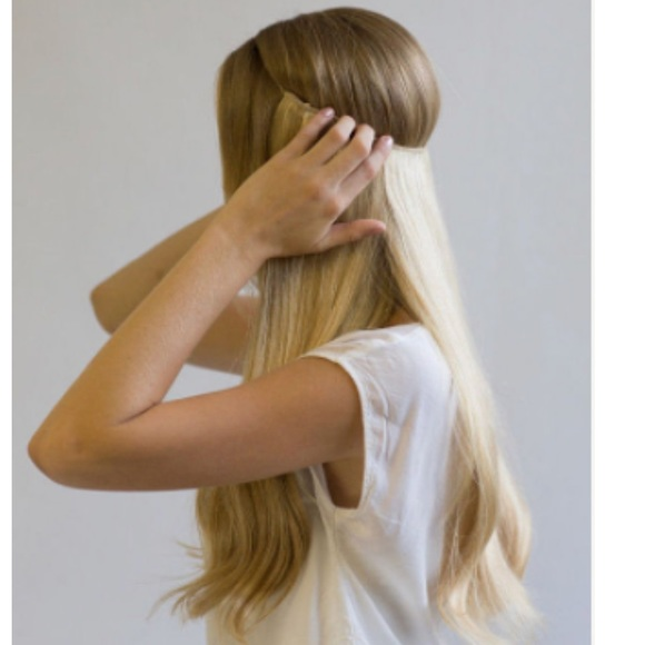Halo Couture Hair Extensions Youtube Human Hair Extensions