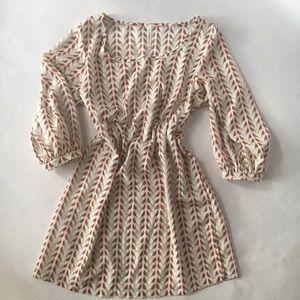 Audrey 3+1 Tops - Audrey 3+1 redbird tunic/dress