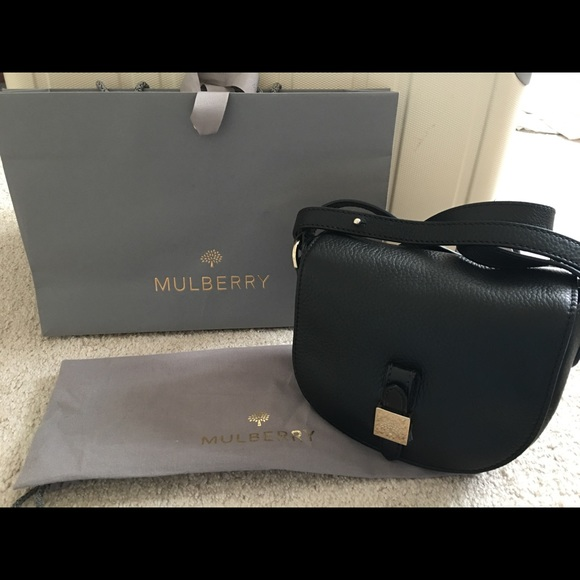 c23ecf976246 Authentic Mulberry Tessie Satchel Small - NWT