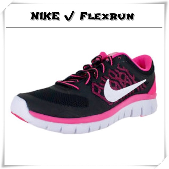 premium selection e84ea 23d61 🆕NIKE 2015 Black, White, Pink Pow Flex run shoe. M 5947d5f3291a35171d0f0260