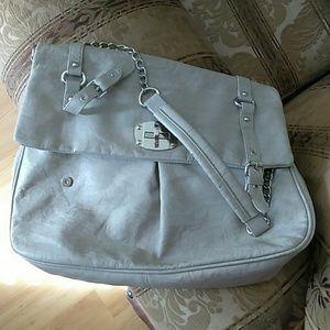 Big Buddha Handbags - Big Buddha Faux Leather Messenger Bag