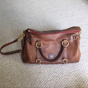 Dooney and Bourke Florentine Leather Satchel Bag