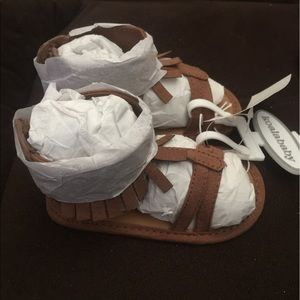 Other - NWT baby girl moccasins