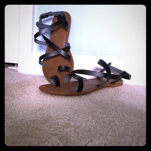 Sonoma Shoes - Sonoma black strap sandals