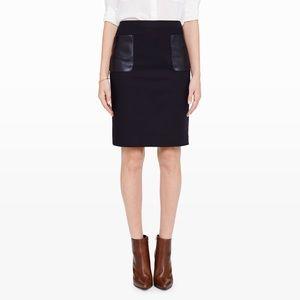 Club Monaco Dresses & Skirts - Club Monaco Nadine Leather Pocket Pencil Skirt EUC