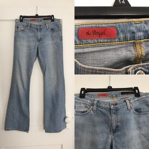 Ag Adriano Goldschmied Denim - AG The Angel bootcut jeans size 30