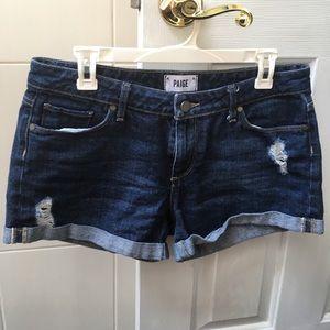 PAIGE sz 29 jean shorts