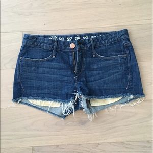 Earnest Sewn Keaton Cut Off Shorts