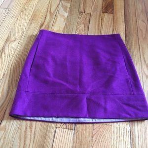 J. Crew Dresses & Skirts - J. Crew Wool Mini Skirt with Side Pockets EUC
