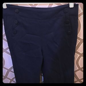 NWT LOFT Sailor Dress Pants (navy)