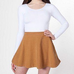American Apparel Corduroy Circle Skirt size Medium