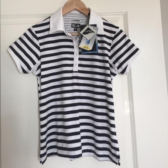 Adidas Golf ClimaCool  mujer tops NWT shirt tamaño S poshmark