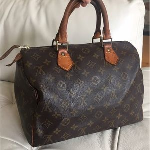 Louis Vuitton Handbags - 💯Authentic Louis Vuitton Speedy 30 vintage bag