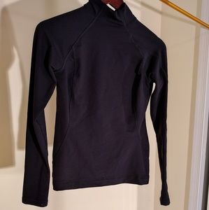 Ativa Tops - Long sleeve black compression performance shirt