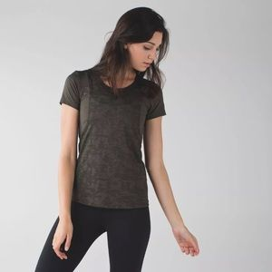lululemon athletica Tops - LULULEMON camo run for days top *NO SIZE*