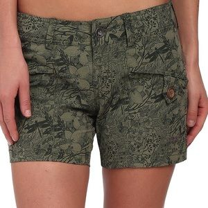 Marmot Pants - Marmot Ginny shorts Green floral