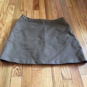 Brooklyn Industries Dresses & Skirts - Brooklyn Industries Mini Skirt Cotton Blend EUC