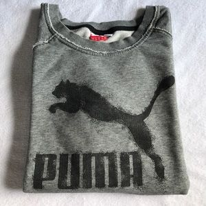 Puma Tops - Puma distressed sweatshirt.