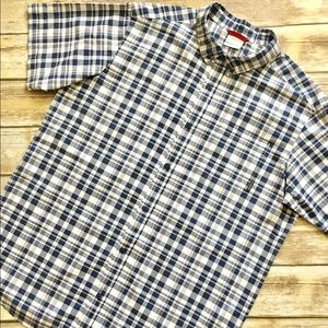 Columbia Other - Columbia - Short Sleeved Plaid Button Down (XL)
