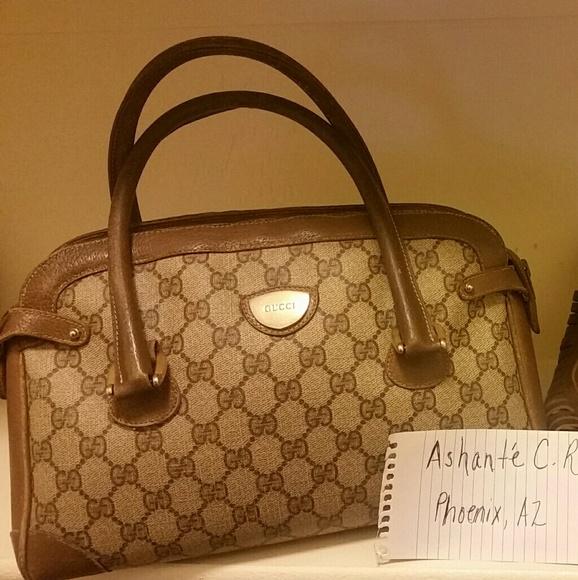 70e292594bea3 Gucci Handbags - FLASH SALE Vintage Gucci Handbag