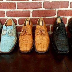 Authentic Alligator and Anaconda Shoes