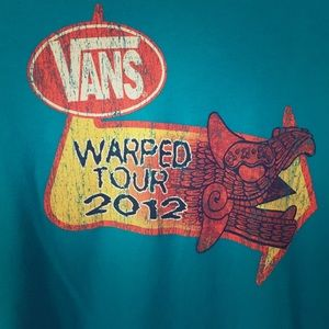 Tops - Vans Warped Tour 2012 Tee