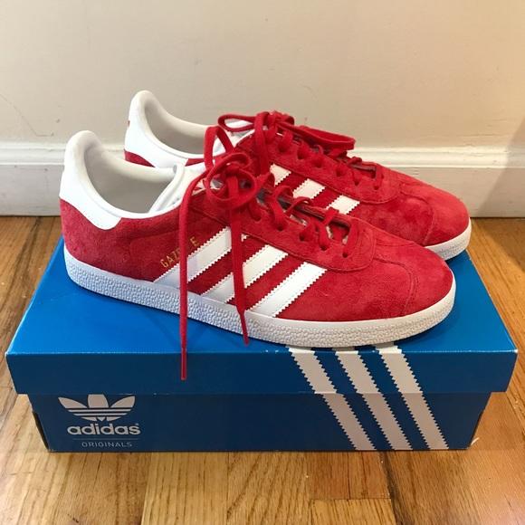 adidas Shoes   Adidas Gazelle Scarlet