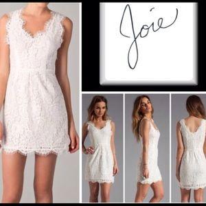 Joie Rori lace white dress--size XS