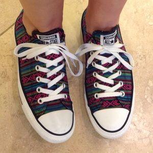 Converse Chuck Taylor All Star low top print sz9