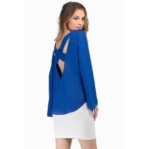 XS Open Back Top