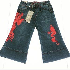 Apollo Jeans Denim - 🆕Stretch Jean Flare Gauchos