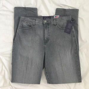 NYDJ Denim - NYDJ jeans twiggy grey denim NWT