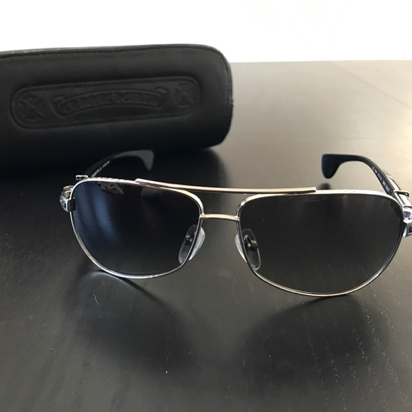 0c0c2c3cea2a Chrome Hearts Accessories - Chrome Hearts Baby Beast Sunglasses Authentic