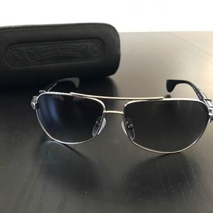 Chrome Hearts Accessories - Chrome Hearts Baby Beast Sunglasses Authentic