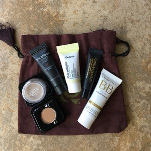 Smashbox Other - Foundation minis with vegan cuts pouch