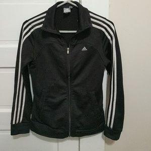 adidas black and gold track jacket