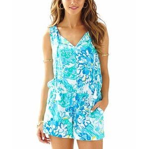 "Lilly Pulitzer Tybee Romper ""In a Pinch"""