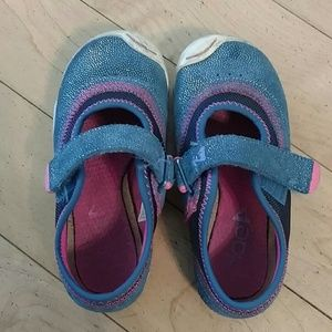 PLAE Other - Plae Emme Mary Jane Sneakers 9.5 Blue Pink
