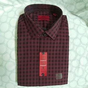 🆕In package Alfani spice wine dress shirt