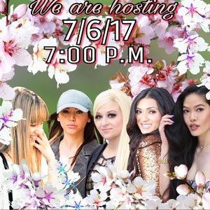 7/6/17 We are hosting a Poshmark Party 💗💕💖