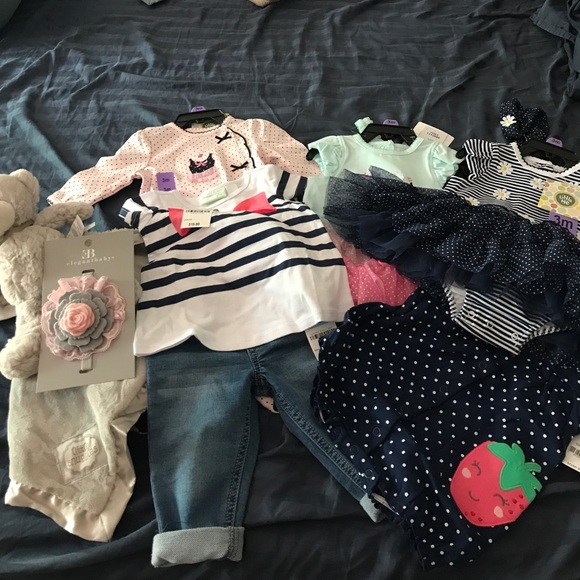 afd035fd98c45 3-6 months baby girls clothes  Carter s Macy s etc