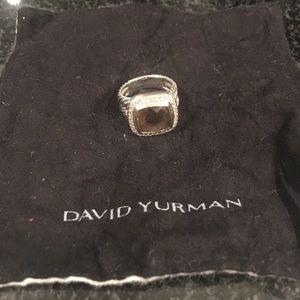 David Yurman Jewelry - Authentic David Yurman faceted smokey quartz ring