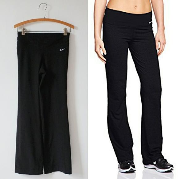 Nike Pants Jumpsuits Last Call Black Yoga Pants Be Strong Pants Poshmark