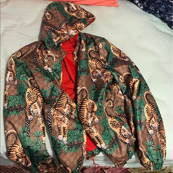 566288fef2f MEN  Gucci Bengal Tiger Windbreaker