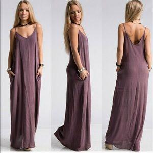 Fashionomics Dresses & Skirts - Washed Gauzed Maxi