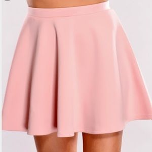 50% off Dresses & Skirts - Light Pink High-Low Skirt from Leonie's ...