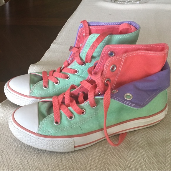 45d0c3ec5675 Converse Other - Gently used girls  Converse all-star hightops